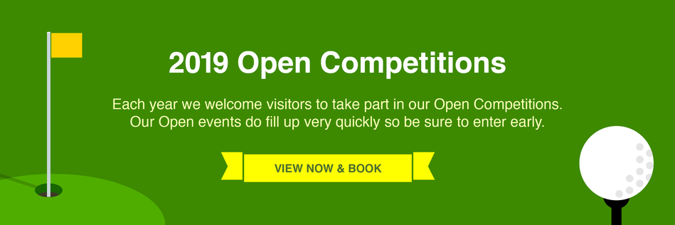 Open Golf Competitions